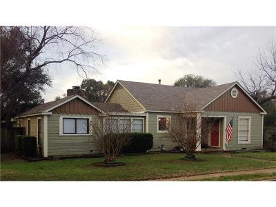 Belton Single Family Home For Sale: 303 E 12th Ave