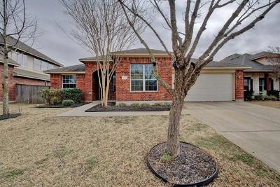 Manor Single Family Home Pending - Taking Backups: 13712 Field Spar Dr