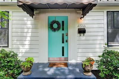Austin Single Family Home For Sale: 4516 Speedway