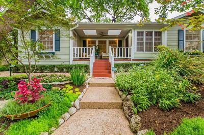 Travis Heights Single Family Home For Sale: 2001 Alta Vista Ave