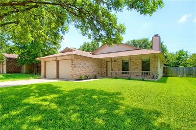 Round Rock Single Family Home For Sale: 2002 Wagon Gap Dr