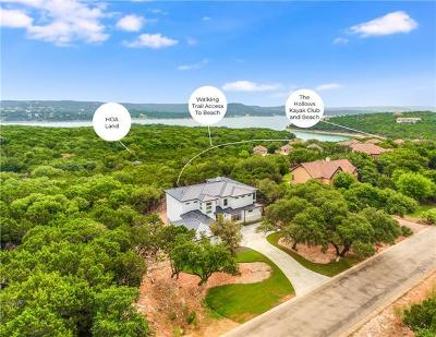 Lago Vista TX Single Family Home For Sale: $989,000
