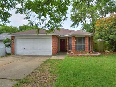Round Rock Single Family Home Pending - Taking Backups: 1607 Sundance Dr