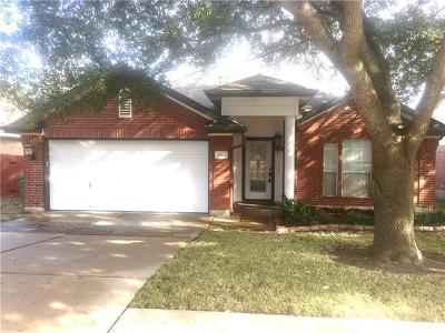 Pflugerville Single Family Home Pending - Taking Backups: 20823 Morgans Choice Ln