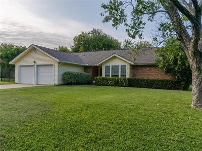 Round Rock Single Family Home For Sale: 600 Westminster Pl