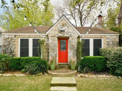 Austin Single Family Home For Sale: 507 Clarke St