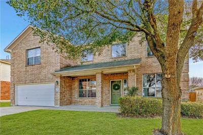 Pflugerville Single Family Home For Sale: 609 Stokesay Castle Path