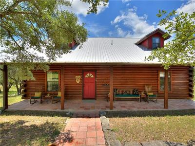 Dripping Springs Single Family Home For Sale: 310 Gant Rd