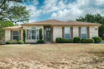 Lago Vista Single Family Home For Sale: 21406 Horseshoe Loop