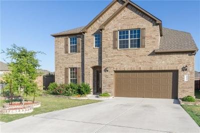 Leander Single Family Home For Sale: 2016 August Jake Dr