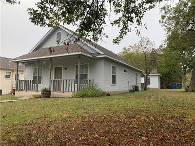 Taylor Single Family Home For Sale: 419 Branch St