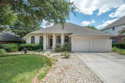 Pflugerville Single Family Home Pending - Taking Backups: 803 Indian Run Dr