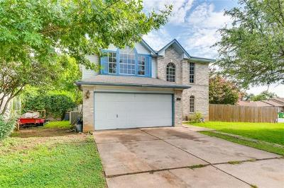 Round Rock Single Family Home Pending - Taking Backups: 1422 Green Terrace Dr