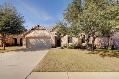 Cedar Park Single Family Home Active Contingent: 2411 Sweetwater Ln