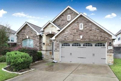 Cedar Park Single Family Home Pending - Taking Backups: 4404 Wicklow Mountain Trl