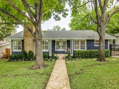 Single Family Home For Sale: 2301 Westover Rd