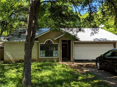 Cedar Park Single Family Home Pending - Taking Backups: 1309 Piney Creek Ln