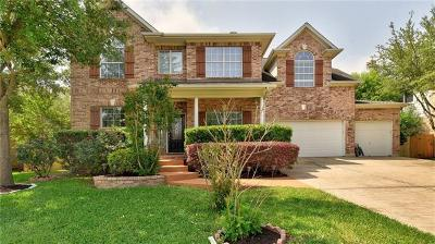Austin Single Family Home Active Contingent: 3313 Summer Canyon Dr