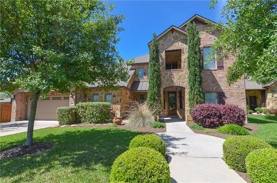 Round Rock Single Family Home For Sale: 3908 Crest Ln