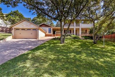 Travis County Single Family Home Pending - Taking Backups: 1401 Falcon Ledge Dr
