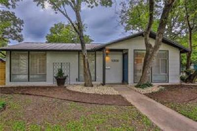 Austin Single Family Home For Sale: 5308 Halwill Pl