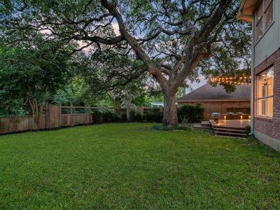 Austin Single Family Home For Sale: 5808 Back Bay Ln