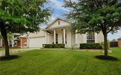 Round Rock Single Family Home For Sale: 2420 Pearson Way