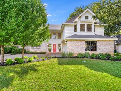 Travis County, Williamson County Single Family Home For Sale: 11609 Autumn Ridge Dr