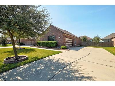 Pflugerville Single Family Home For Sale: 19128 Pencil Cactus Dr
