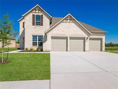 Round Rock Single Family Home For Sale: 5728 Toscana Trace