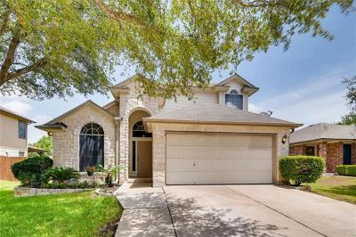 Round Rock Single Family Home For Sale: 1608 Lobo Mountain Ln