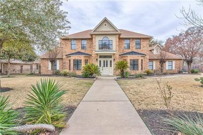 Round Rock Single Family Home For Sale: 10 Oak Vw