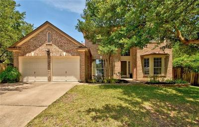 Travis County Single Family Home Pending - Taking Backups: 9305 Axtellon Ct