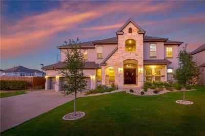 Leander Single Family Home For Sale: 2516 Long Lasso Pass