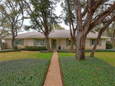 Travis County Single Family Home Pending - Taking Backups: 3712 Capistrano Trl