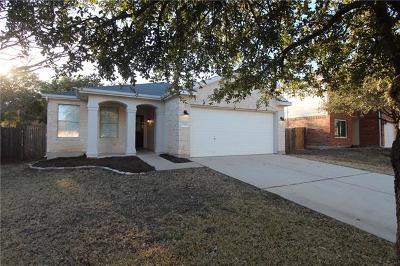 Cedar Park Single Family Home Pending - Taking Backups: 2305 Drue Ln