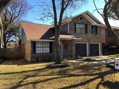Round Rock Single Family Home For Sale: 17507 Gunnison Springs Dr