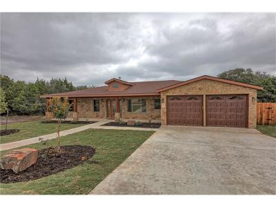 Lago Vista Single Family Home Pending - Taking Backups: 2009 American Dr
