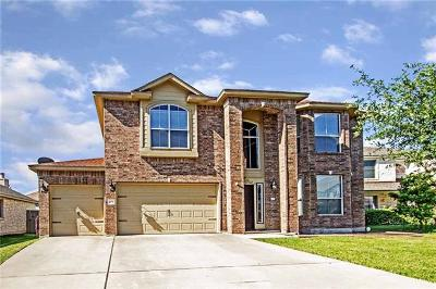 Harker Heights Single Family Home Active Contingent: 204 Fitzgerald Ct