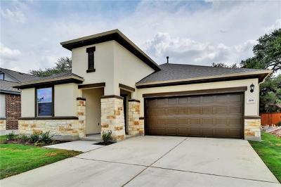 Leander Single Family Home For Sale: 208 Tulum Terrace