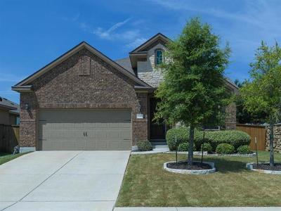 Round Rock Single Family Home For Sale: 2817 Santa Ana Ln