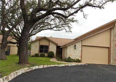 Lago Vista Condo/Townhouse Pending - Taking Backups: 15 Oaks Pl