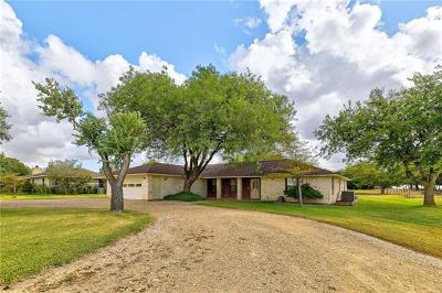 Taylor Single Family Home For Sale: 2301 Old Coupland Rd