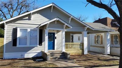 Temple Single Family Home For Sale: 215 N 9th St