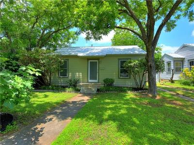 Austin Single Family Home For Sale: 5404 Avenue F