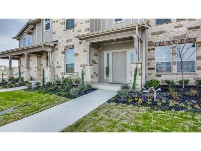 Pflugerville Condo/Townhouse For Sale: 124 Gates Of The Artic Ave