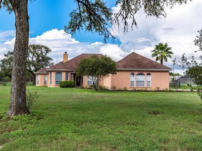 Buda Single Family Home For Sale: 320 Woodland Oaks Trl