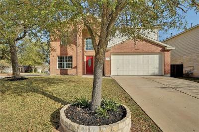 Cedar Park Single Family Home For Sale: 1111 Heritage Park Dr