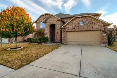 Pflugerville Single Family Home Active Contingent: 2505 Pumpkin Ridge Ct