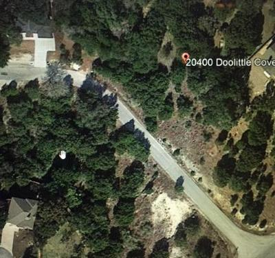 Lago Vista TX Residential Lots & Land For Sale: $20,000